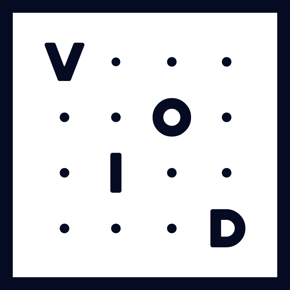 Void Media Logo Blue